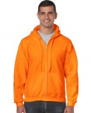 Bluza Heavy Blend Full Zip Hooded Adult GILDAN 18600 - Gildan_18600_20 Safety orange