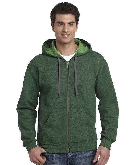 Bluza Heavy Blend Vintage Classic Full Zip Hooded GILDAN 18700 - Gildan_18700_03 - Kolor: Meadow