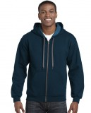 Bluza Heavy Blend Vintage Classic Full Zip Hooded GILDAN 18700 - Gildan_18700_04 Midnight