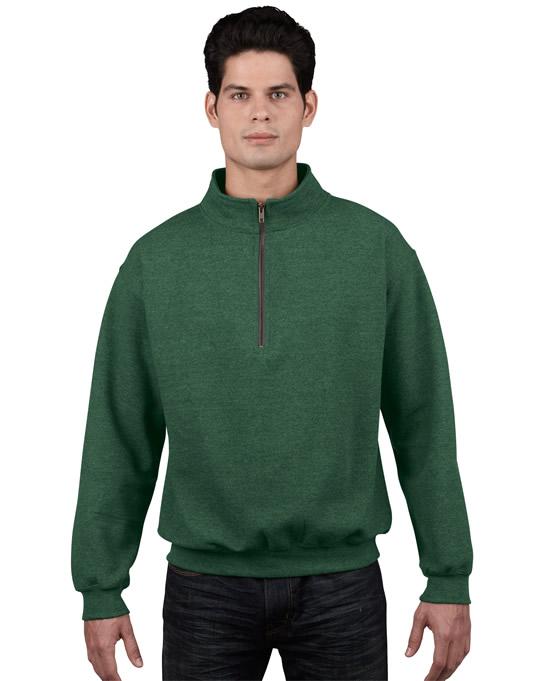 Bluza Heavy Blend Classic Fit 1/4 Zip Adult GILDAN 18800 - Gildan_18800_04 - Kolor: Meadow
