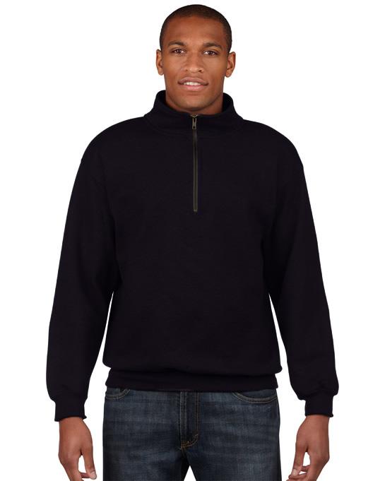 Bluza Heavy Blend Classic Fit 1/4 Zip Adult GILDAN 18800 - Gildan_18800_06 - Kolor: Navy