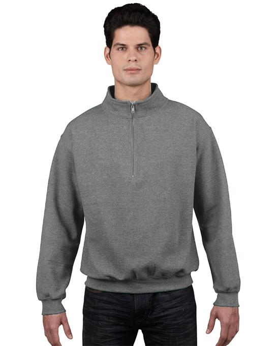 Bluza Heavy Blend Classic Fit 1/4 Zip Adult GILDAN 18800 - Gildan_18800_11 - Kolor: Sport grey