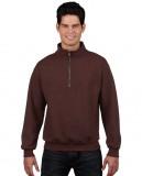 Bluza Heavy Blend Classic Fit 1/4 Zip Adult GILDAN 18800 - Gildan_18800_10 Russet