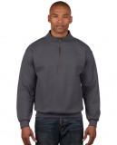 Bluza Heavy Blend Classic Fit 1/4 Zip Adult GILDAN 18800 - Gildan_18800_12 Tweed