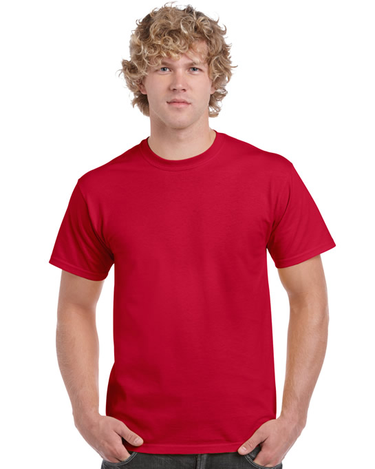 Koszulka Ultra Cotton Adult Gildan 2000 - Gildan_2000_10 - Kolor: Cherry red