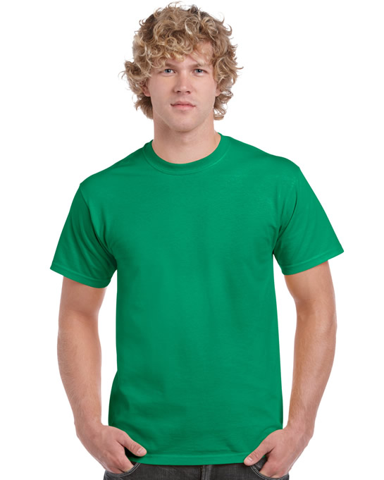 Koszulka Ultra Cotton Adult Gildan 2000 - Gildan_2000_25 - Kolor: Kelly green