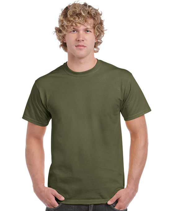 Koszulka Ultra Cotton Adult Gildan 2000 - Gildan_2000_32 - Kolor: Military green