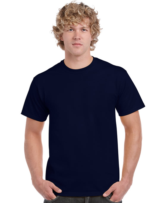 Koszulka Ultra Cotton Adult Gildan 2000 - Gildan_2000_34 - Kolor: Navy