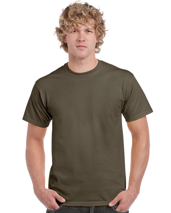 Koszulka Ultra Cotton Adult Gildan 2000 - Gildan_2000_36 - Kolor: Olive