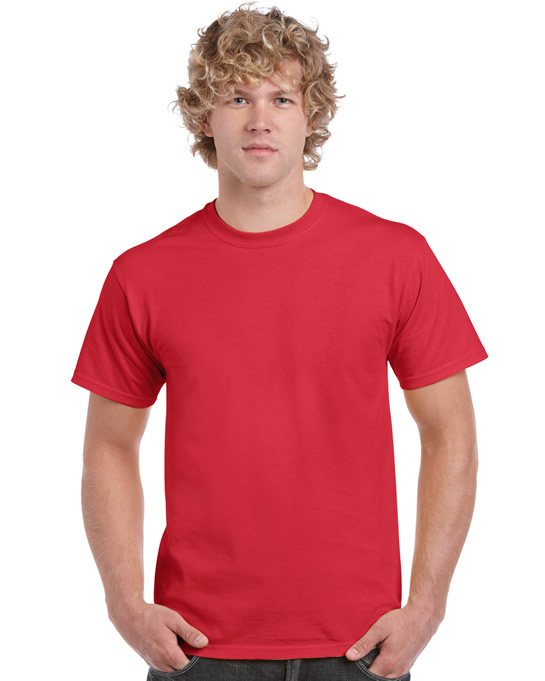 Koszulka Ultra Cotton Adult Gildan 2000 - Gildan_2000_43 - Kolor: Red