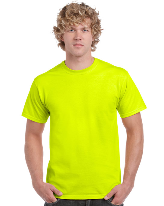 Koszulka Ultra Cotton Adult Gildan 2000 - Gildan_2000_45 - Kolor: Safety green