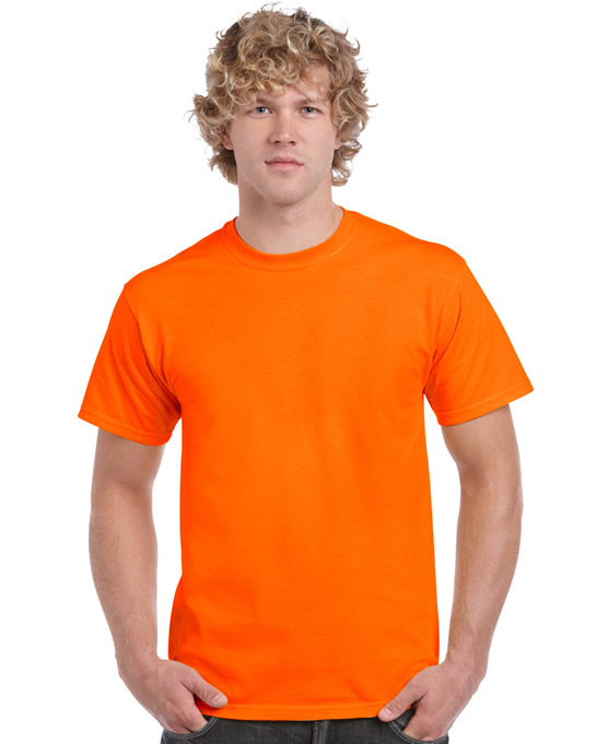 Koszulka Ultra Cotton Adult Gildan 2000 - Gildan_2000_46 - Kolor: Safety orange