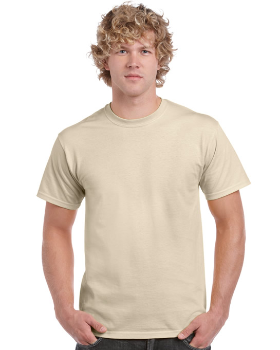 Koszulka Ultra Cotton Adult Gildan 2000 - Gildan_2000_48 - Kolor: Sand