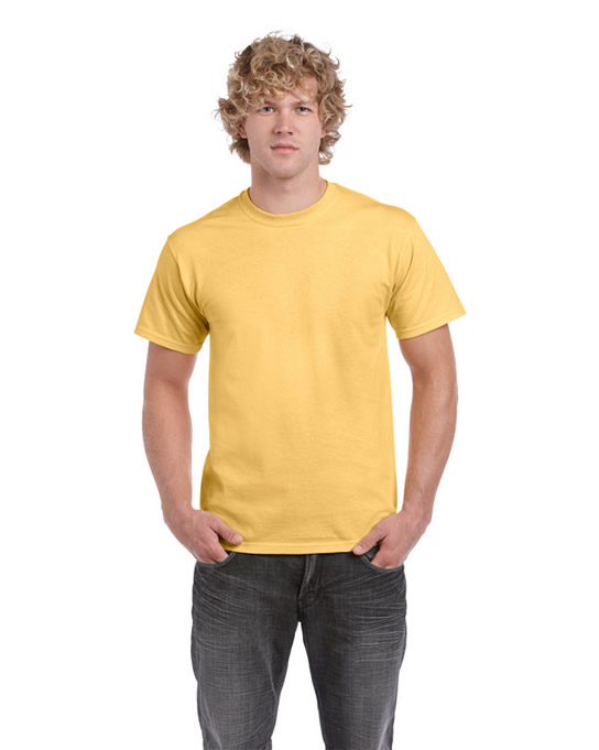 Koszulka Ultra Cotton Adult Gildan 2000 - Gildan_2000_59 - Kolor: Yellow haze