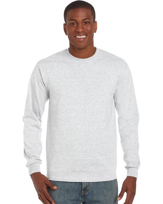 Koszulka Ultra Cotton Long Sleeve Adult GILDAN 2400 - Gildan_2400_01 - Kolor: Ash