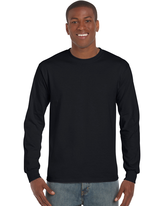 Koszulka Ultra Cotton Long Sleeve Adult GILDAN 2400 - Gildan_2400_03 - Kolor: Black