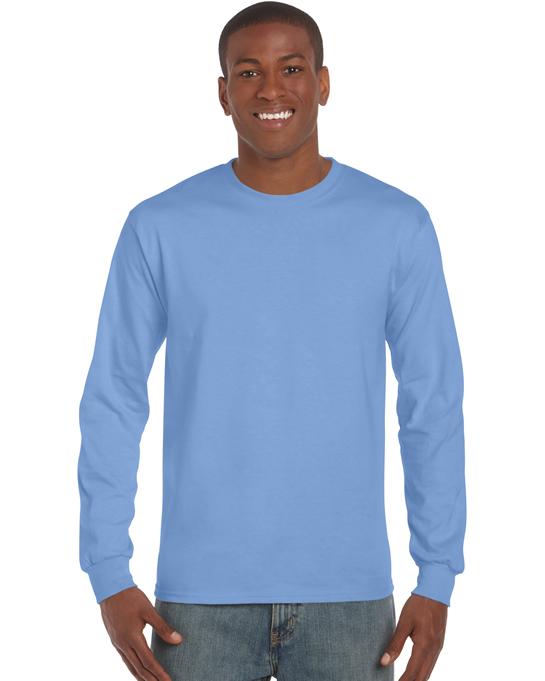 Koszulka Ultra Cotton Long Sleeve Adult GILDAN 2400 - Gildan_2400_04 - Kolor: Carolina blue