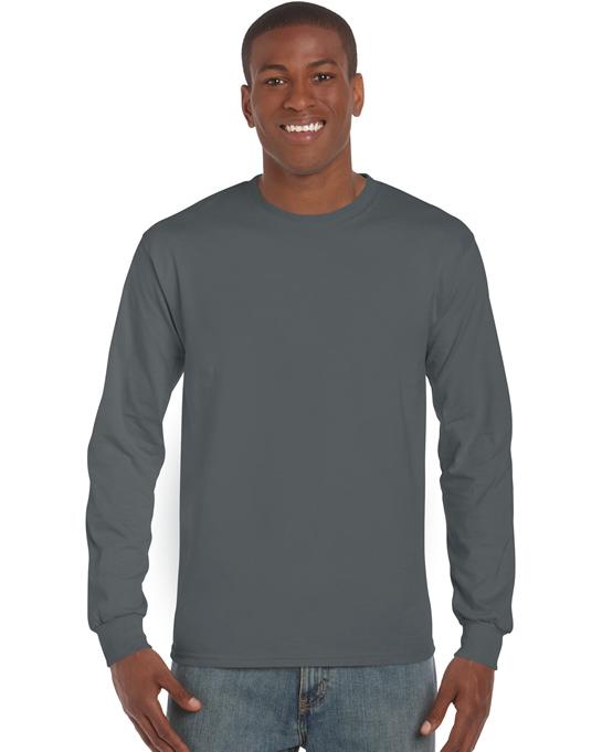 Koszulka Ultra Cotton Long Sleeve Adult GILDAN 2400 - Gildan_2400_05 - Kolor: Charcoal
