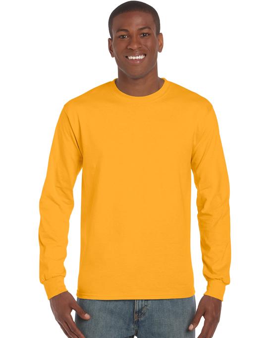Koszulka Ultra Cotton Long Sleeve Adult GILDAN 2400 - Gildan_2400_09 - Kolor: Gold