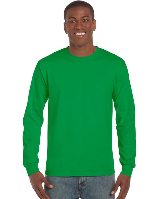 Koszulka Ultra Cotton Long Sleeve Adult GILDAN 2400 - Gildan_2400_10 - Kolor: Irish green