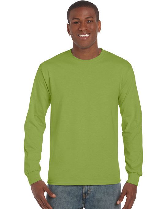 Koszulka Ultra Cotton Long Sleeve Adult GILDAN 2400 - Gildan_2400_11 - Kolor: Kiwi