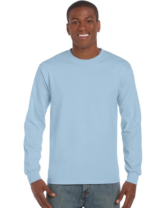 Koszulka Ultra Cotton Long Sleeve Adult GILDAN 2400 - Gildan_2400_12 - Kolor: Light blue