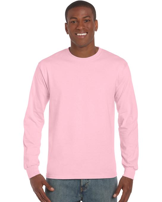Koszulka Ultra Cotton Long Sleeve Adult GILDAN 2400 - Gildan_2400_13 - Kolor: Light pink