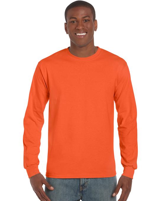 Koszulka Ultra Cotton Long Sleeve Adult GILDAN 2400 - Gildan_2400_16 - Kolor: Orange