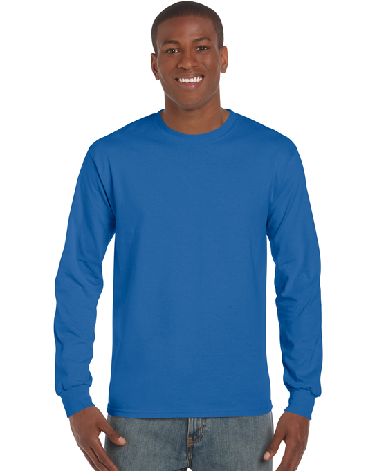Koszulka Ultra Cotton Long Sleeve Adult GILDAN 2400 - Gildan_2400_18 - Kolor: Royal blue