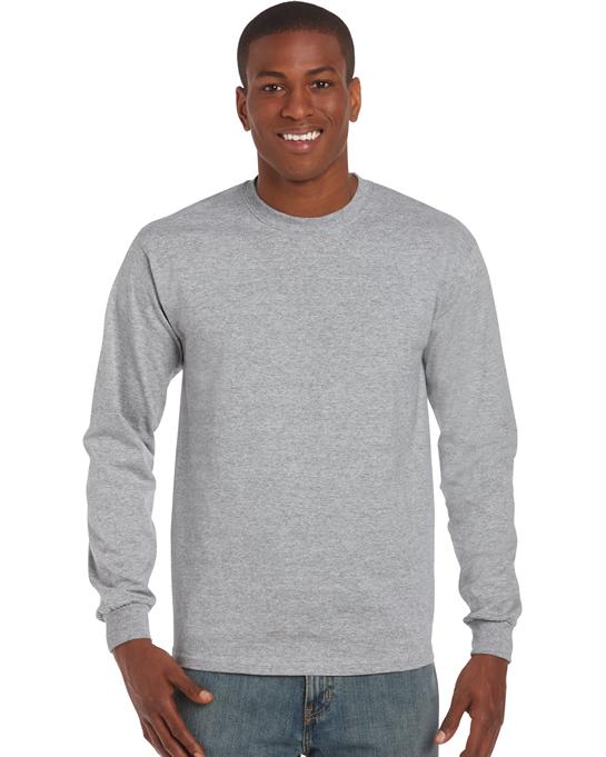 Koszulka Ultra Cotton Long Sleeve Adult GILDAN 2400 - Gildan_2400_21 - Kolor: Sport grey