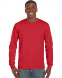 Koszulka Ultra Cotton Long Sleeve Adult GILDAN 2400 - Gildan_2400_17 Red