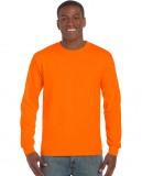 Koszulka Ultra Cotton Long Sleeve Adult GILDAN 2400 - Gildan_2400_20 Safety orange
