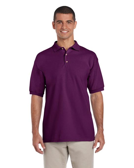Koszulka Polo Ultra Cotton Adult GILDAN 3800 - Gildan_3800_02 - Kolor: Aubergine