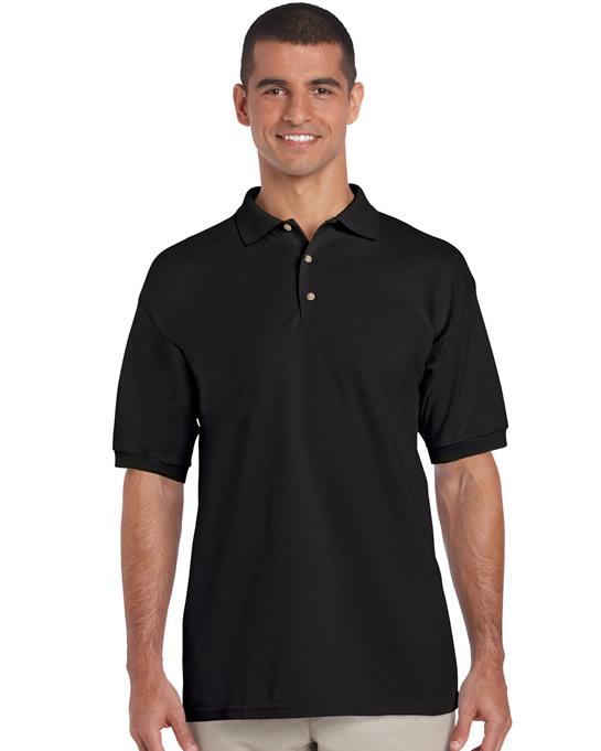 Koszulka Polo Ultra Cotton Adult GILDAN 3800 - Gildan_3800_03 - Kolor: Black