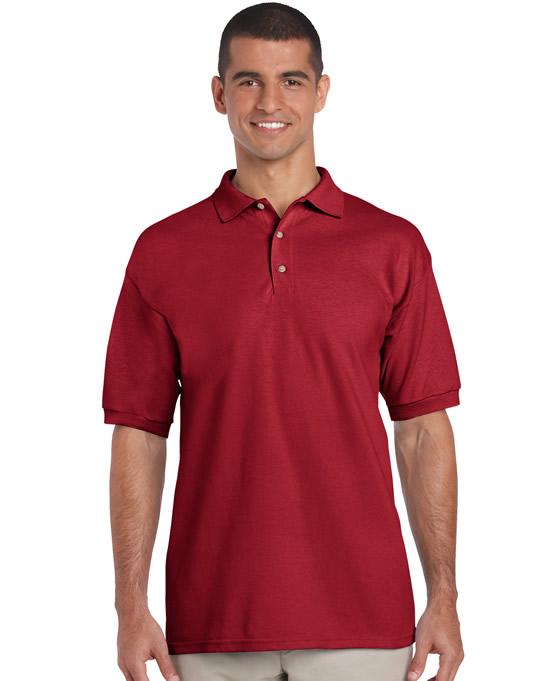 Koszulka Polo Ultra Cotton Adult GILDAN 3800 - Gildan_3800_04 - Kolor: Cardinal red