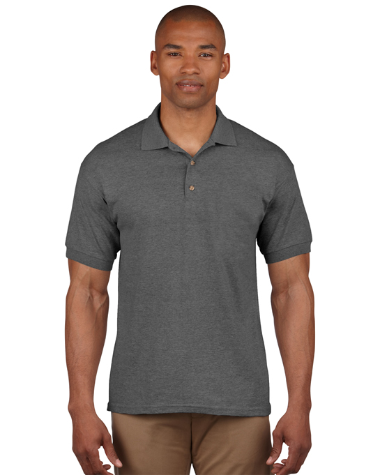 Koszulka Polo Ultra Cotton Adult GILDAN 3800 - Gildan_3800_08 - Kolor: Dark heather