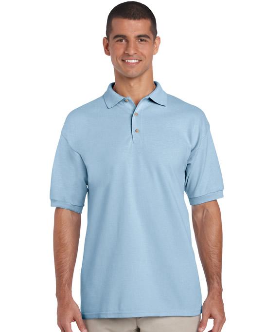Koszulka Polo Ultra Cotton Adult GILDAN 3800 - Gildan_3800_11 - Kolor: Light blue