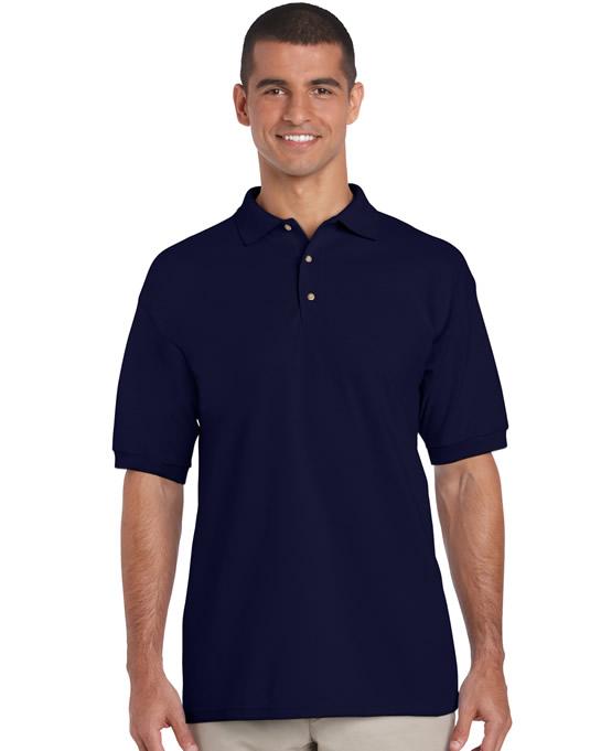 Koszulka Polo Ultra Cotton Adult GILDAN 3800 - Gildan_3800_14 - Kolor: Navy