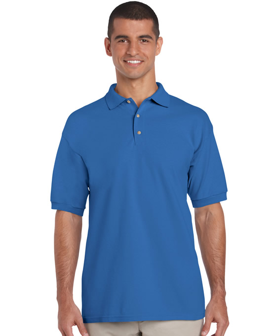 Koszulka Polo Ultra Cotton Adult GILDAN 3800 - Gildan_3800_17 - Kolor: Royal blue