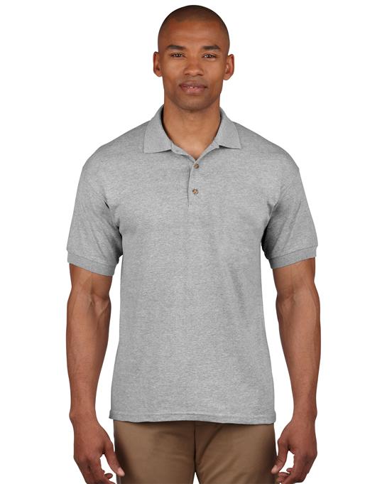 Koszulka Polo Ultra Cotton Adult GILDAN 3800 - Gildan_3800_18 - Kolor: Sport grey