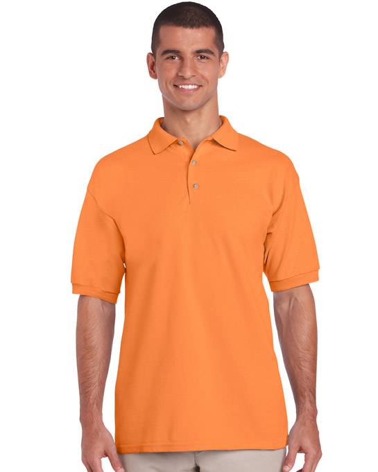 Koszulka Polo Ultra Cotton Adult GILDAN 3800 - Gildan_3800_20 - Kolor: Tangarine