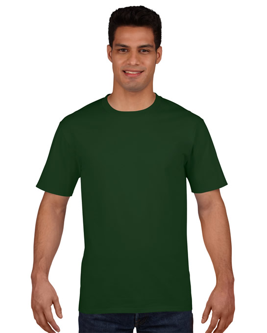 Koszulka Premium Cotton Adult GILDAN 4100 - Gildan_4100_07 - Kolor: Forest green