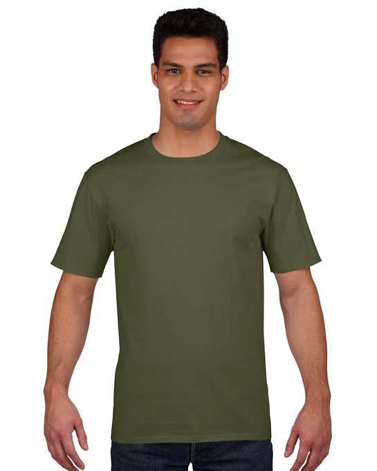 Koszulka Premium Cotton Adult GILDAN 4100 - Gildan_4100_13 - Kolor: Military green