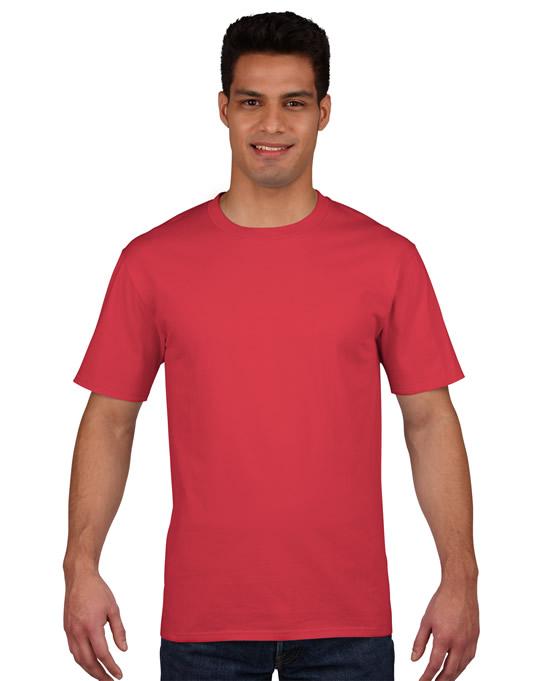 Koszulka Premium Cotton Adult GILDAN 4100 - Gildan_4100_17 - Kolor: Red