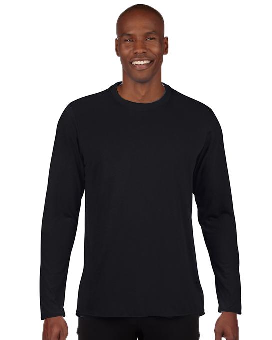 Koszulka Performance Long Sleeve Adult GILDAN 42400 - Gildan_42400_01 - Kolor: Black