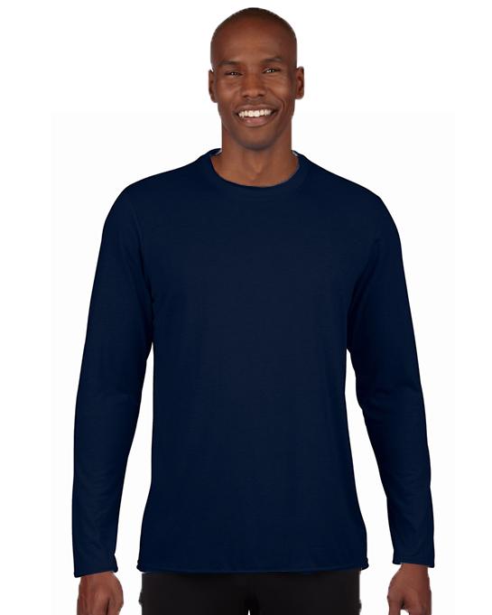Koszulka Performance Long Sleeve Adult GILDAN 42400 - Gildan_42400_02 - Kolor: Navy