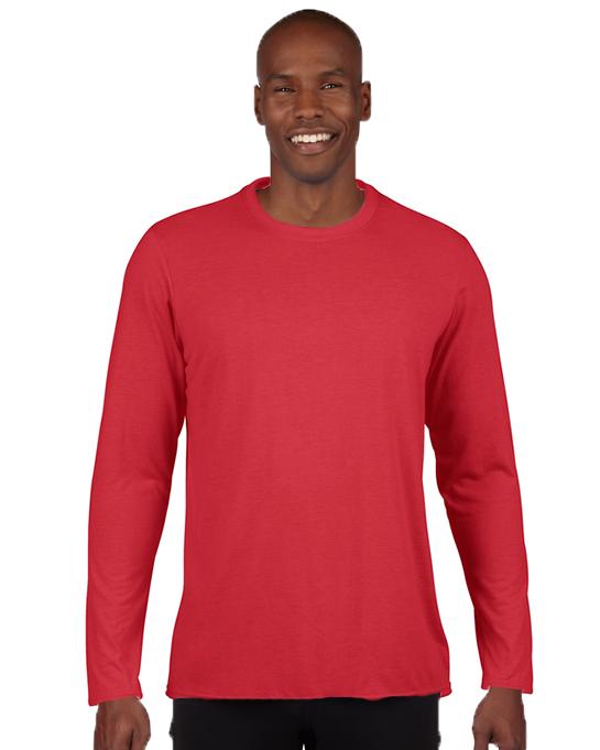 Koszulka Performance Long Sleeve Adult GILDAN 42400 - Gildan_42400_03 - Kolor: Red