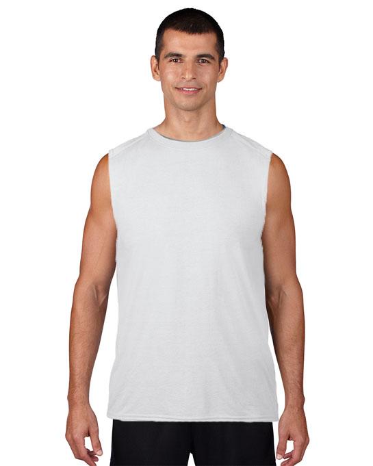 Koszulka Performence Sleeveless Adult GILDAN 42700 - Gildan_42700_02 - Kolor: White