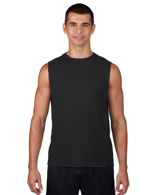 Koszulka Performence Sleeveless Adult GILDAN 42700 - Gildan_42700_04 - Kolor: Black