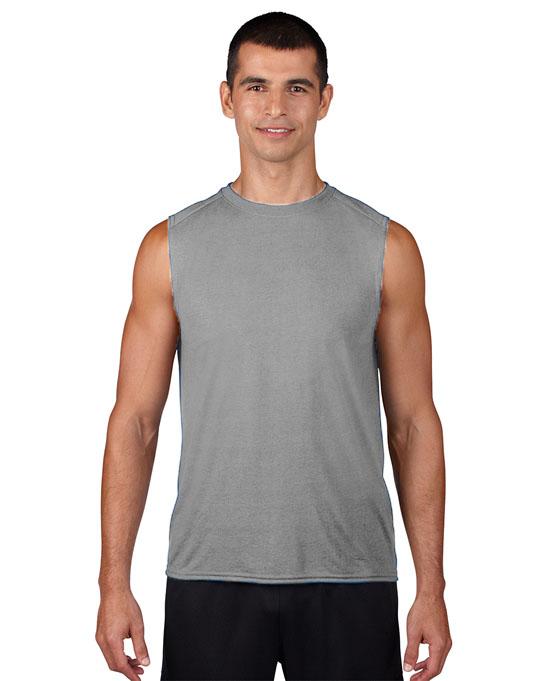 Koszulka Performence Sleeveless Adult GILDAN 42700 - Gildan_42700_05 - Kolor: Sport grey